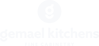 Gemael Kitchens White Logo